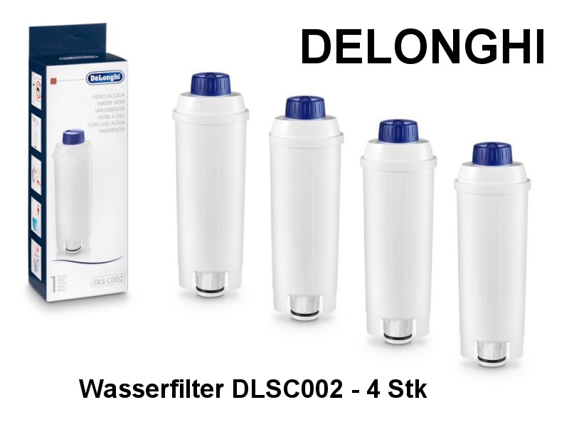 delonghi wasserfilter dlsc002 4 s kuechenmaschine. Black Bedroom Furniture Sets. Home Design Ideas