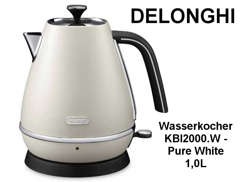 delonghi wasserkocher kbi2000 w pur kuechenmaschine. Black Bedroom Furniture Sets. Home Design Ideas