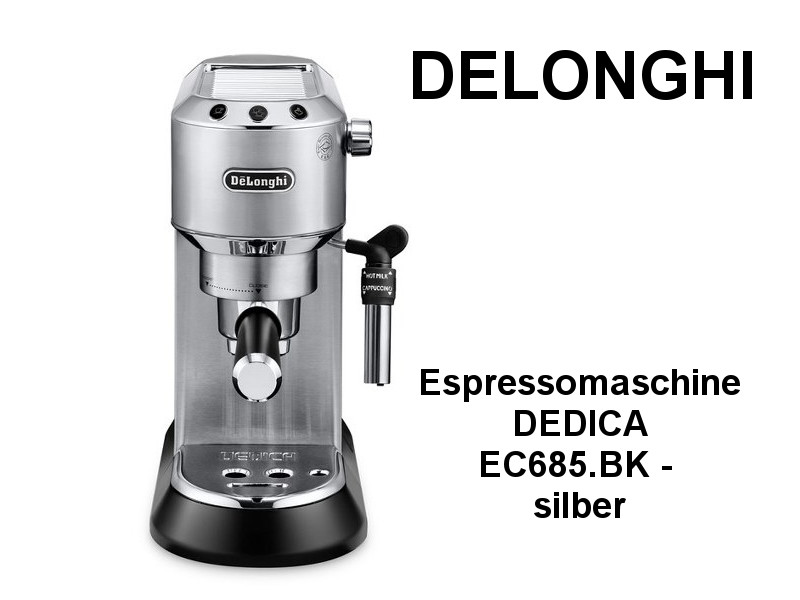 delonghi espressomaschine dedica ec kuechenmaschine. Black Bedroom Furniture Sets. Home Design Ideas