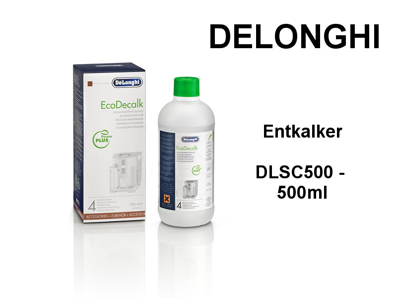 delonghi entkalker dlsc500 500ml kuechenmaschine. Black Bedroom Furniture Sets. Home Design Ideas