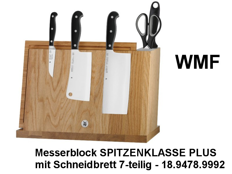 wmf messerblock spitzenklasse plus kuechenmaschine. Black Bedroom Furniture Sets. Home Design Ideas